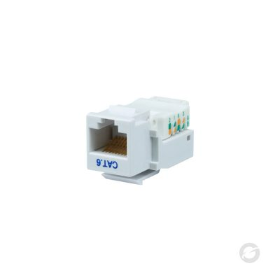 KEYST-6-W - CAT 6 White - GESS Technologies