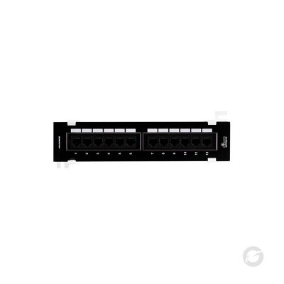 PP5-12 - 12 Port with frame black - GESS Technologies