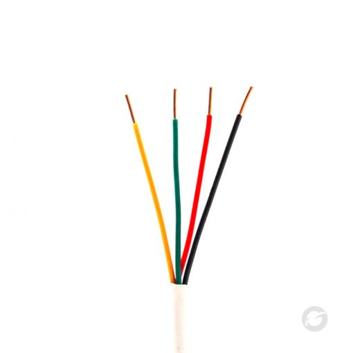 Speaker Cable 18/4 500FT CM/CL2 Pull Box White - GESS Technologies