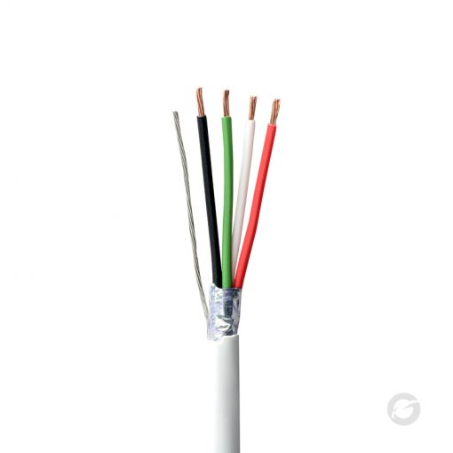 Unshielded Stranded Alarm Cable 22AWG 4Core PE Shrink + Pull box Packed
